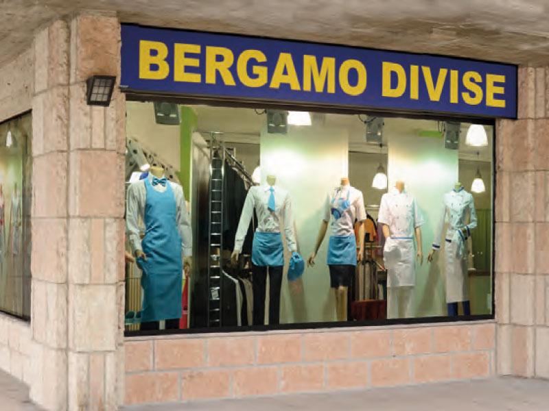 Bergamo Divise Negozio